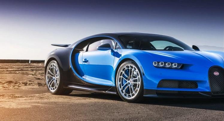 Bugatti Chiron met Vossen velgen