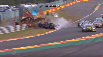 Crash Lamborghini Supertrofeo Spa-Francorchamps