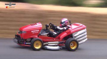 Honda Mean Mower V2 op Goodwood