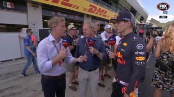 Interviews met Max Verstappen na overwinning in Oostenrijk
