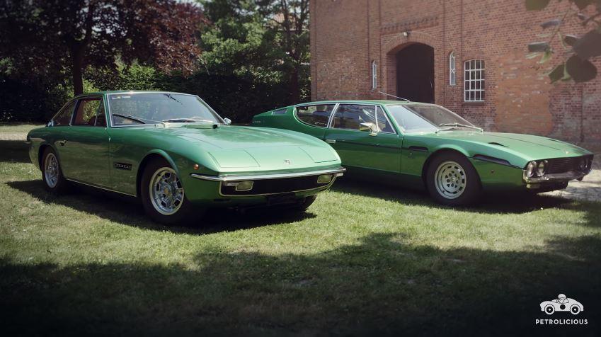 Lamborghini Espada en Islero in matchende kleuren