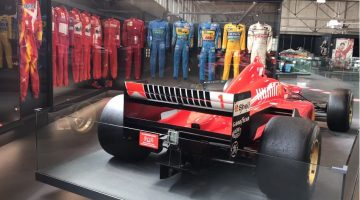 Michael Schumacher-collectie in Motorworld