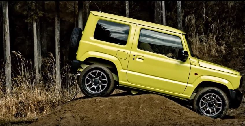 Nieuwe Suzuki Jimny