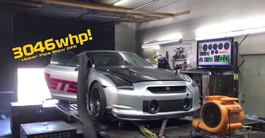 Nissan GT-R ETS Rollenbank