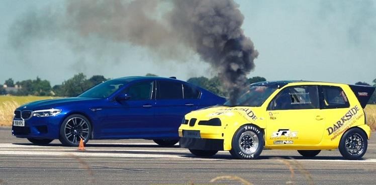 Seat Arosa Diesel vs BMW M5