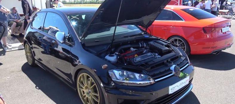 Volkswagen Golf 7 R met Audi-vijfcilinder