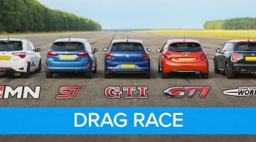 dragrace hot hatches
