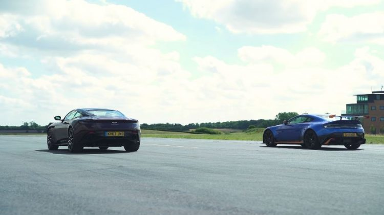Aston Martin Vantage GT8 vs Aston Martin DB11