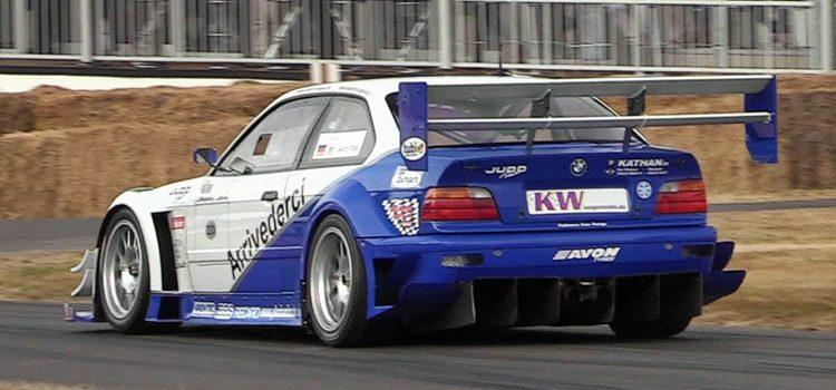 BMW E36 Judd V8 van Georg Plasa