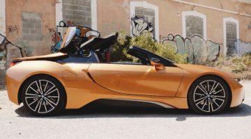 BMW I8 Roadster rijtest