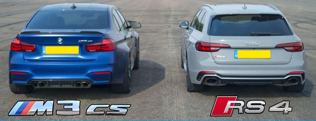 BMW M3 CS vs Audi RS4