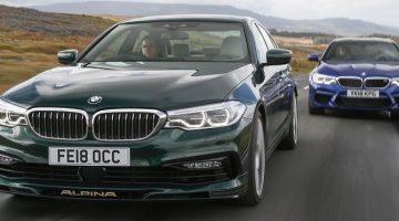 BMW M5 vs Alpina B5
