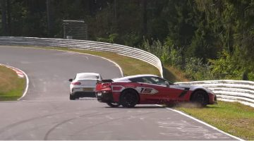 Corvette C7 Z06 Crash YouTube Corner