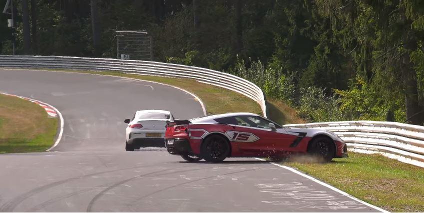 Corvette C7 Z06 Crash YouTube Corner
