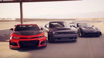 Corvette ZR1 vs Camaro ZL1 vs Dodge Demon