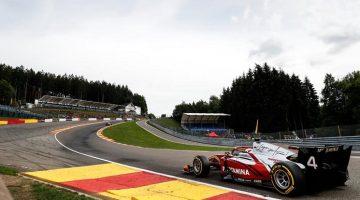 De Vries wint Formule 2 op Spa-Francorchamps