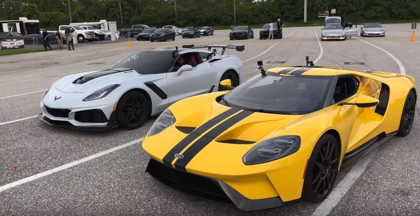 Ford GT vs Corvette ZR1
