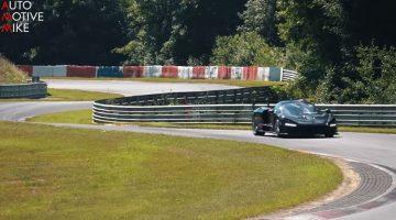 McLaren Senna gespot op de Nurburgring