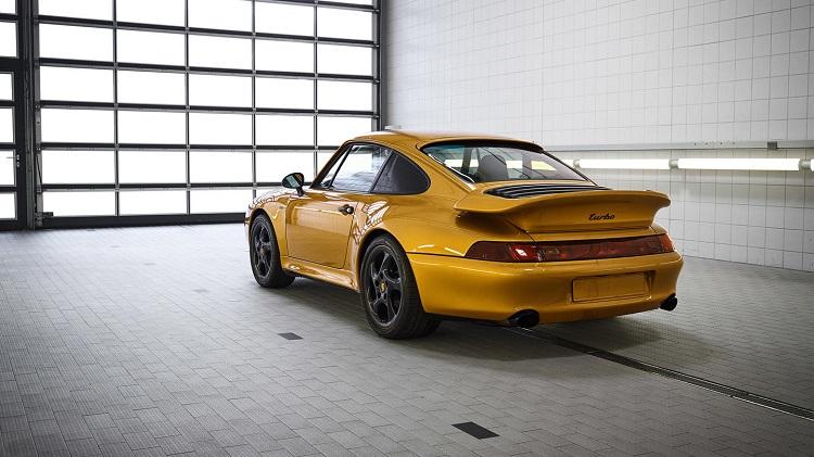 Porsche 993 Gold