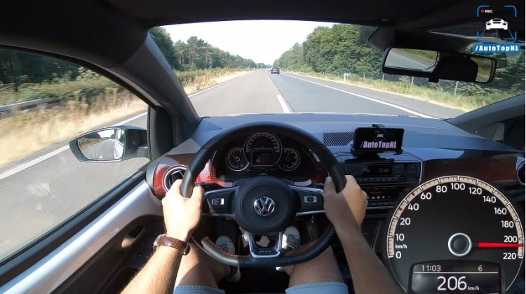 Volkswagen Up GTI Topsnelheid