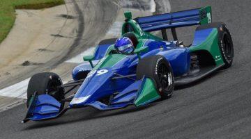 Alonso IndyCar test Barber Motorsports Park