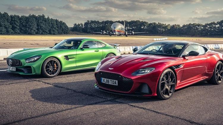 Aston Martin DBS Superleggera vs Mercedes-AMG GT R