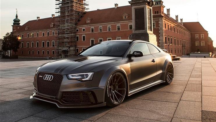 Audi S5 met SR66 Design widebody