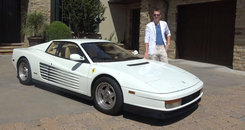 De goedkoopste Ferrari Testarossa in de US