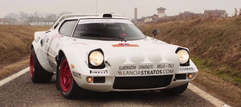 Eric Comas Lancia Stratos Group 4
