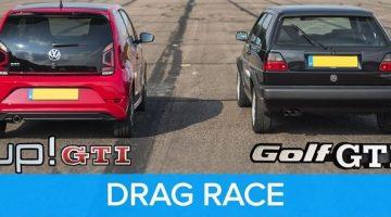 Is de Volkswagen Up GTI sneller dan een Golf GTI MK2