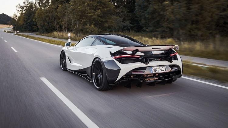 McLaren 720S met Novitec-uitlaat