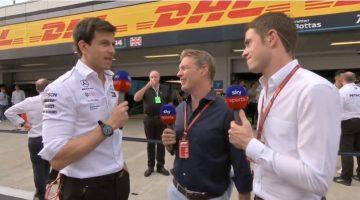 Mercedes AMG F1 Interviews na GP Rusland