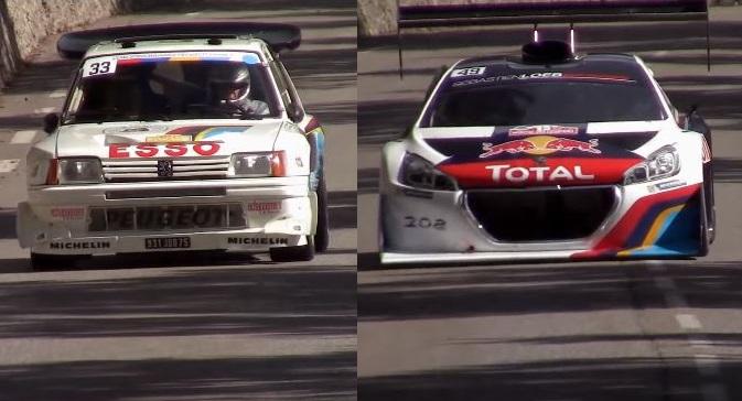 Peugeot 205 T16 Evo 2 & 208 T16 Pikes Peak
