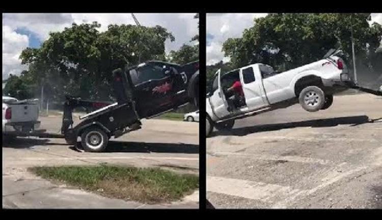 Pickup laat zich niet wegslepen