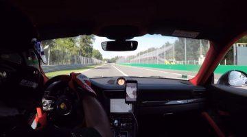 Porsche 911 GT2 RS Klapband Monza