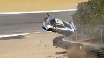 Sheena-monk-crash-Lamborghini-Super-Trofeo-Crash