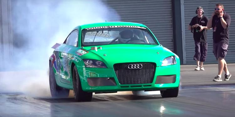 Snelste Audi TT ter wereld