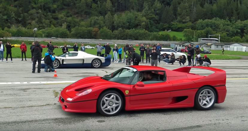 Supercar Owners Club Ambri Airport