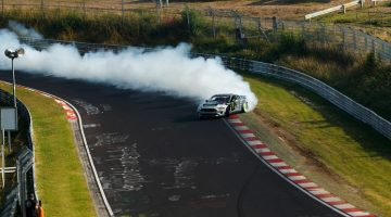 Vaughn Gittin Jr drift de Nordschleife in 900 pk Mustang RTR