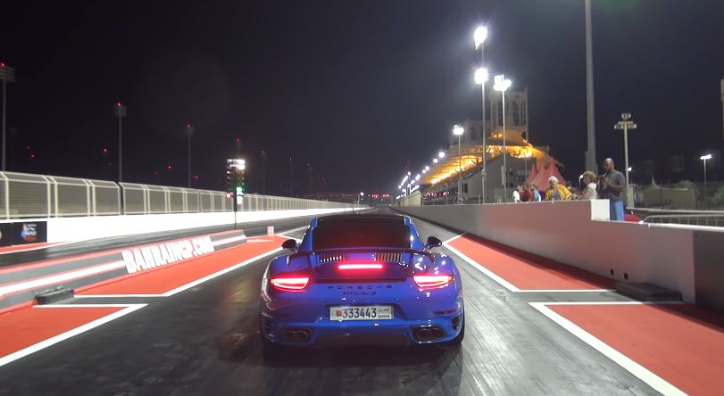 ES1XXX Porsche 991 Turbo S record