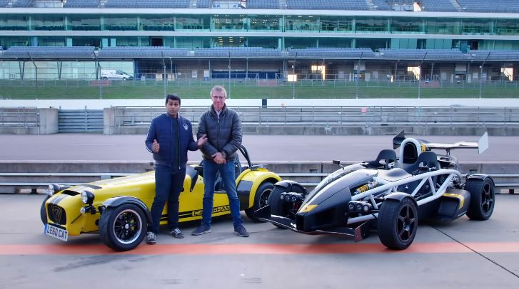 Fifth Gear test Ariel Atom 3.5 R vs Caterham 620R