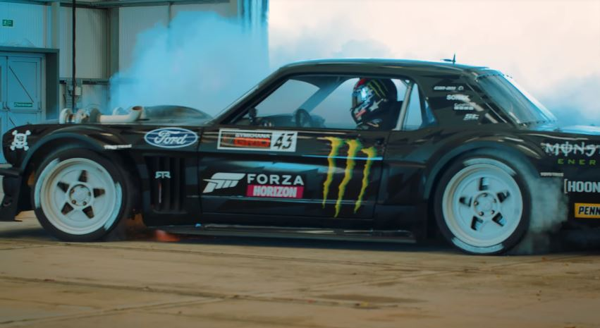 Ken Block op Goodwood