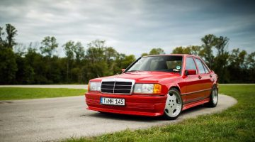 LS Swapped Mercedes-Benz 190E