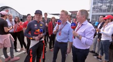 Max Verstappen interview sky sports Mexico