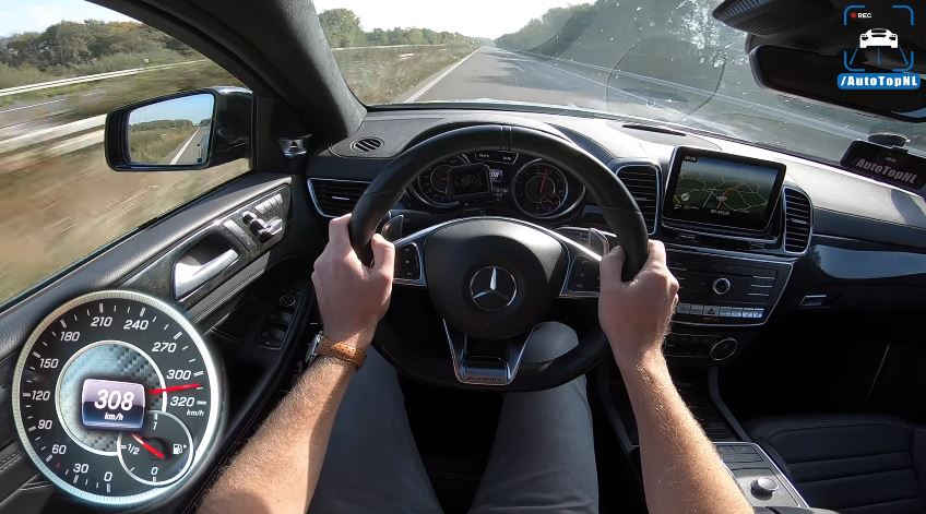 Mercedes-AMG GLE Coupé van GAD Motors haalt 308 kmh
