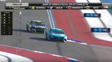NASCAR-Finish Roval