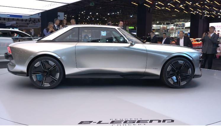 Video Peugeot E Legend Concept Is Een Fijne Mix Tussen Futuristisch