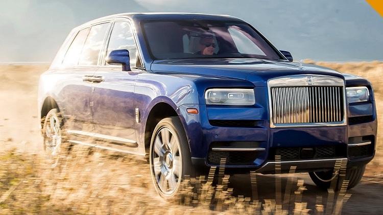 Rolls Royce Cullinan Rijtest