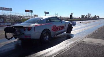 Snelste Nissan GT-R ter wereld op de kwart mijl