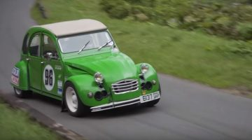 Supercharged Citroen 2CV Hillclimb